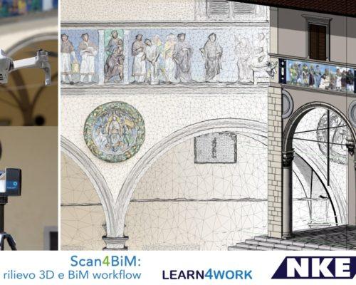 Scan4BIM | Rilievo 3D e BIM workflow